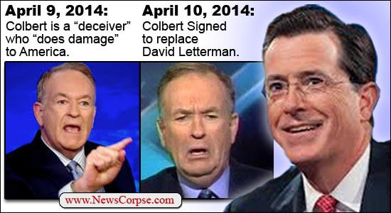Bill O'Reilly/Stephen Colbert