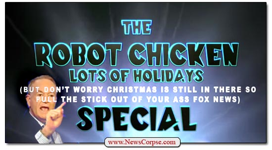 Robot Chicken Fox News War on Christmas