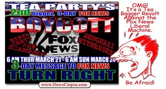 Tea Party Boycott