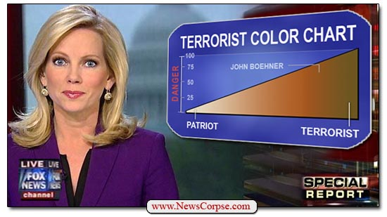 Fox News Terrorist Color Chart