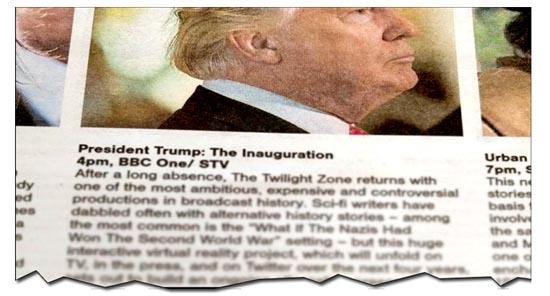 Trump TV Listing