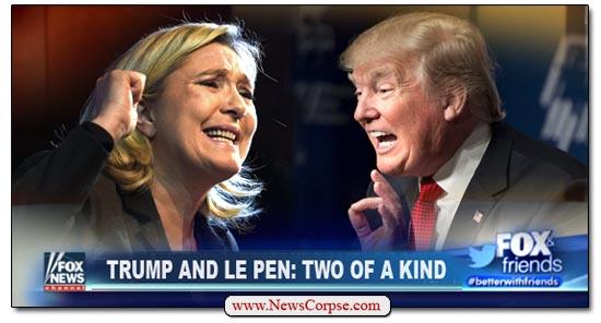 Donald Trump Marine Le Pen