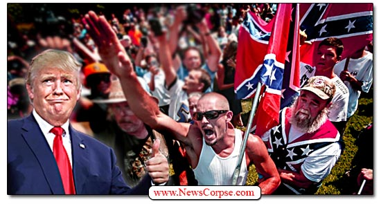 Donald Trump Rally, Sieg Heil