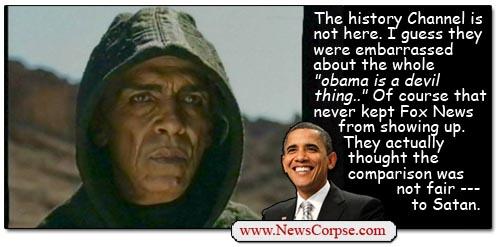 Obama-Satan