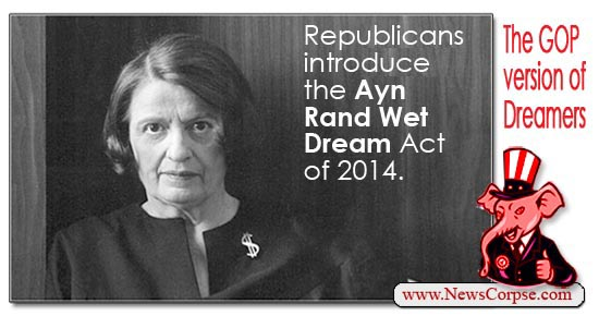 Ayn Rand Wet Dream Act
