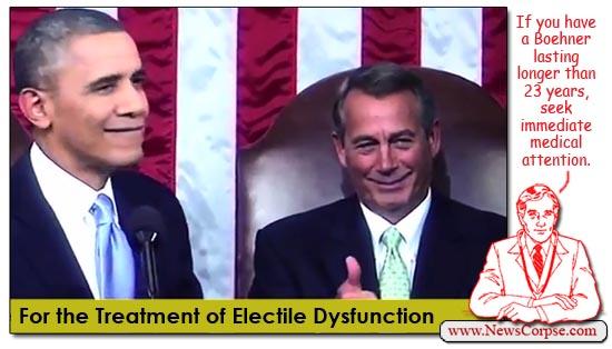 John Boehner Electile Dysfunction