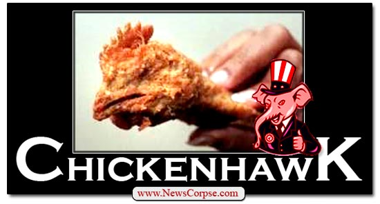 Chickenhawk GOP