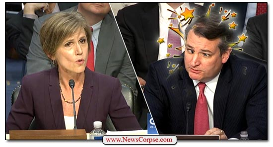 Ted Cruz Sally Yates
