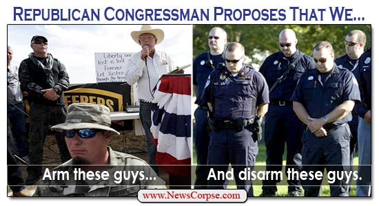 Disarm the Cops