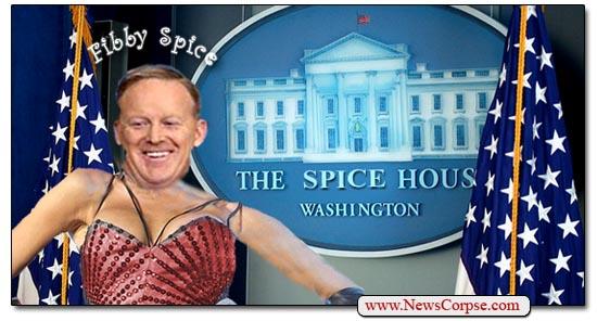 Fibby Spice Sean Spicer