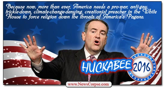 Mike Huckabee 2016