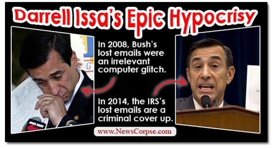 Darrell Issa Hypocrisy