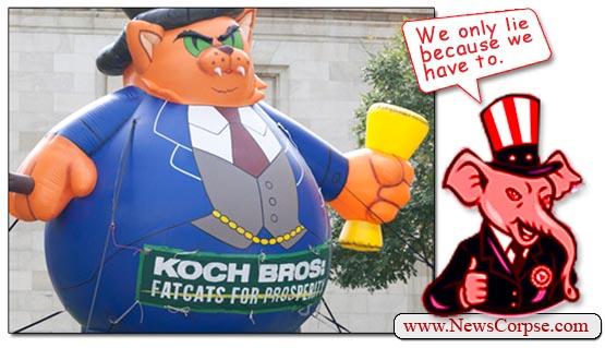 Koch Bros. Fatcat