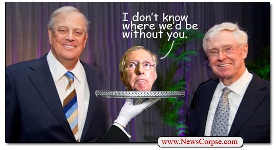 Mitch McConnell / Koch Brothers