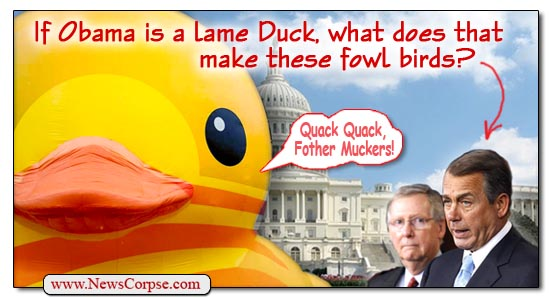 Obama Lame Duck