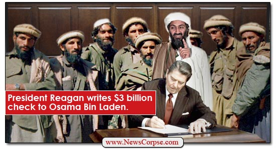 Ronald Reagan / Osama Bin Laden
