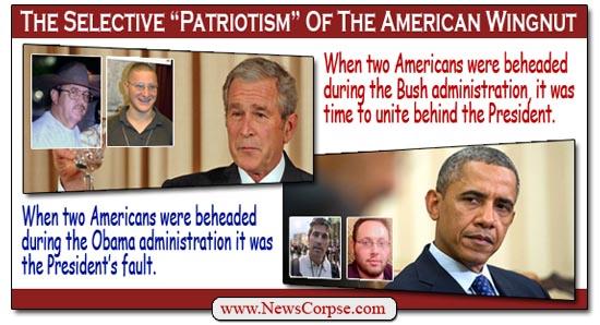 Selective Patriotism