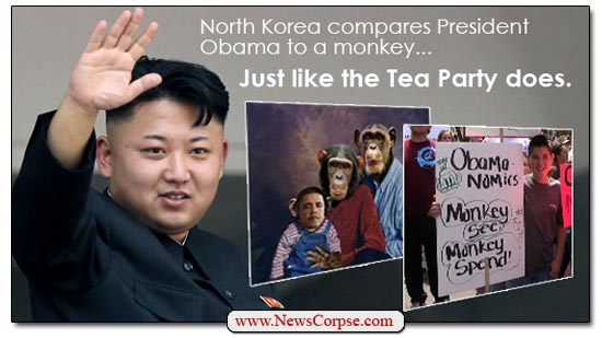 Tea Party Korea Monkey