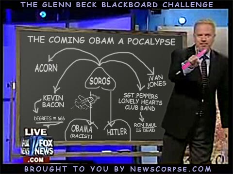 Glenn Beck Blackboard
