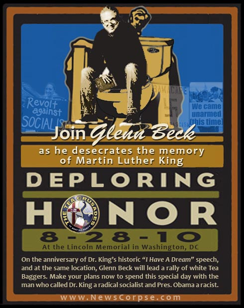Glenn beck Restoring Honor