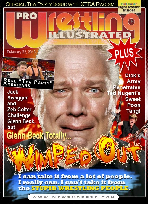 Glenn Beck Wimped Out