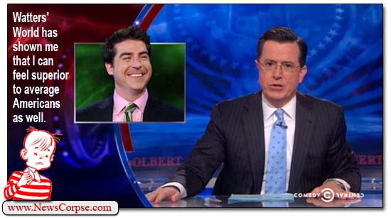 Stephen Colbert Watters World