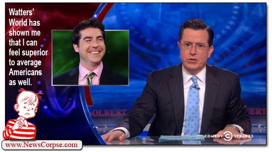 Stephen Colbert Watters World