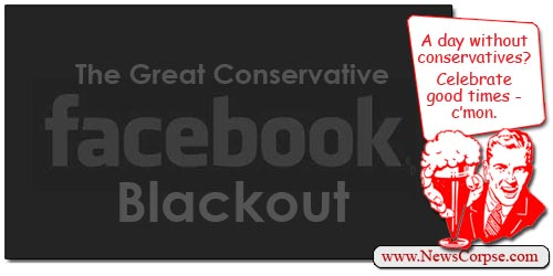Facebook Blackout