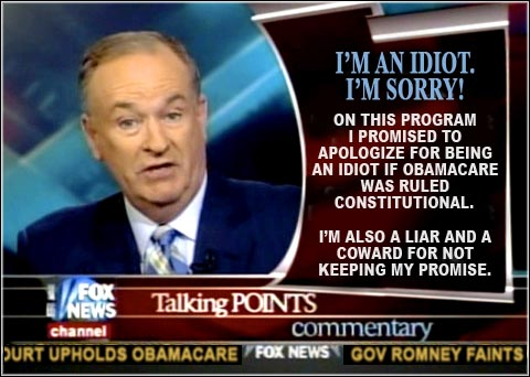 Bill O'Reilly is a Sorry Idiot