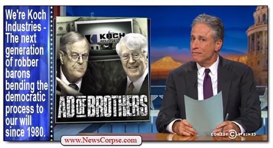 Jon Stewart Koch Brothers