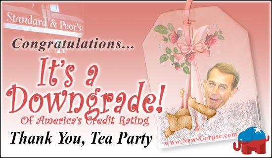 Tea Party Downgrade