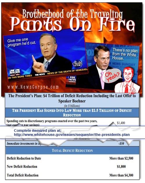 Boehner/O'Reilly