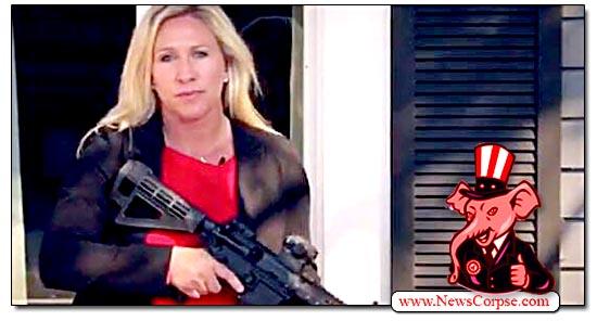 Marjorie Taylor Greene, Gun
