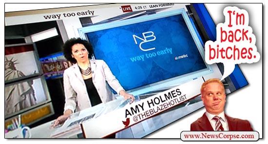 MSNBC Amy Holmes Glenn Beck