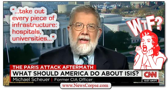 Michael Scheuer CNN