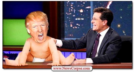 Stephen Colbert & Trump Baby