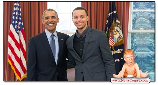 Steph Curry Obama
