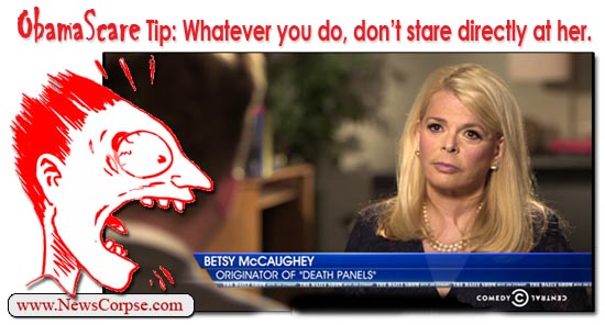 Daily Show Betsy McCaughey