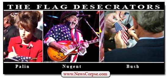 Flag Desecrators