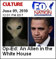 Fox Nation Obama Alien