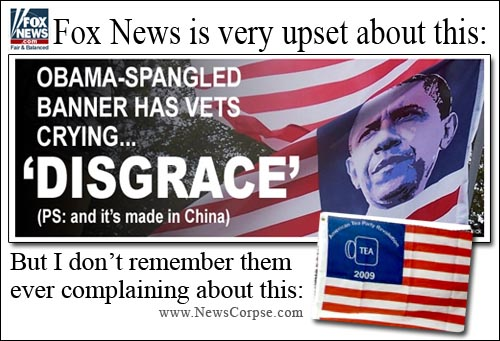 Fox News Flag Flap