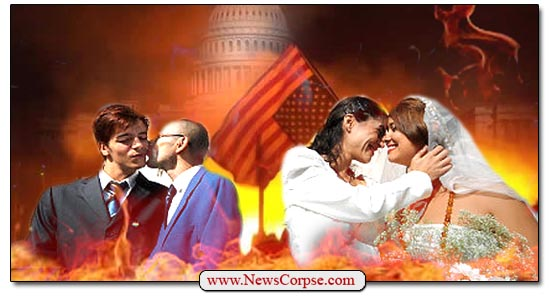 Gay Marriage Fire