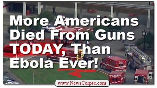 Guns vs. Ebola