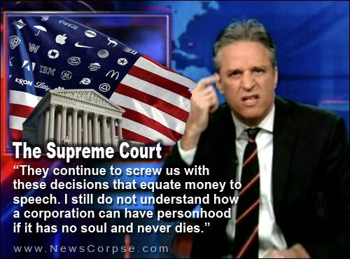 Jon Stewart On Corporate Personhood