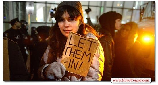 Refugees, Let Them In