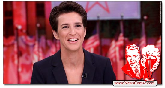 Rachel Maddow is the #1 Cable News Program for First Quarter of 2019