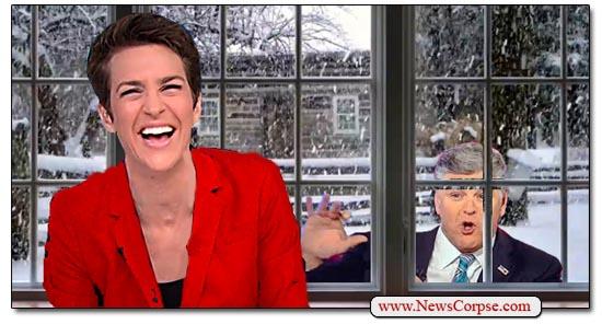 Rachel Maddow, Sean Hannity