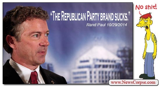Rand Paul, Republican Brand