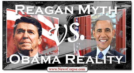 Reagan vs. Obama