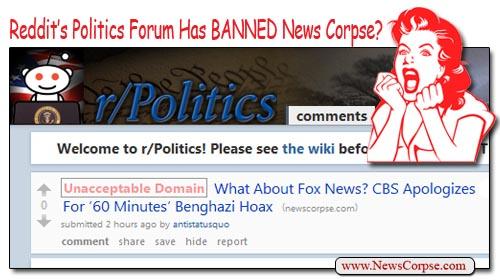 Reddit Bans News Corpse